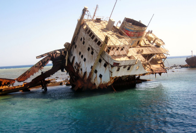 Sinking ship...or bad partnership?