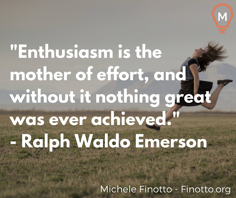 enthusiasm makes the difference pdf